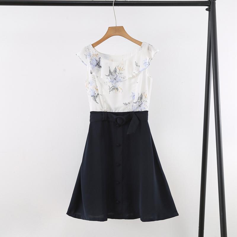 夏季新款清新时尚百搭好看无袖