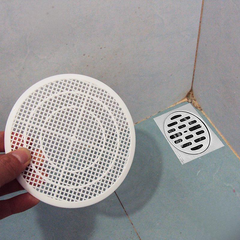 日本浴缸头发过滤网卫生间厕所毛发防塞网水槽下水道菜渣过滤网