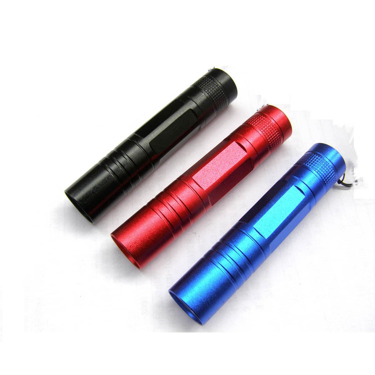 Алюминий, 5-й батареи светодиодный фонарик портативный один документ может взимать небольшой фонарик/версия для печати