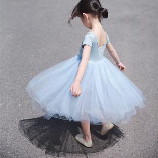 兒童超仙紗裙2019夏季女童連衣裙春秋薄款洋氣公主網紗仙女仙氣