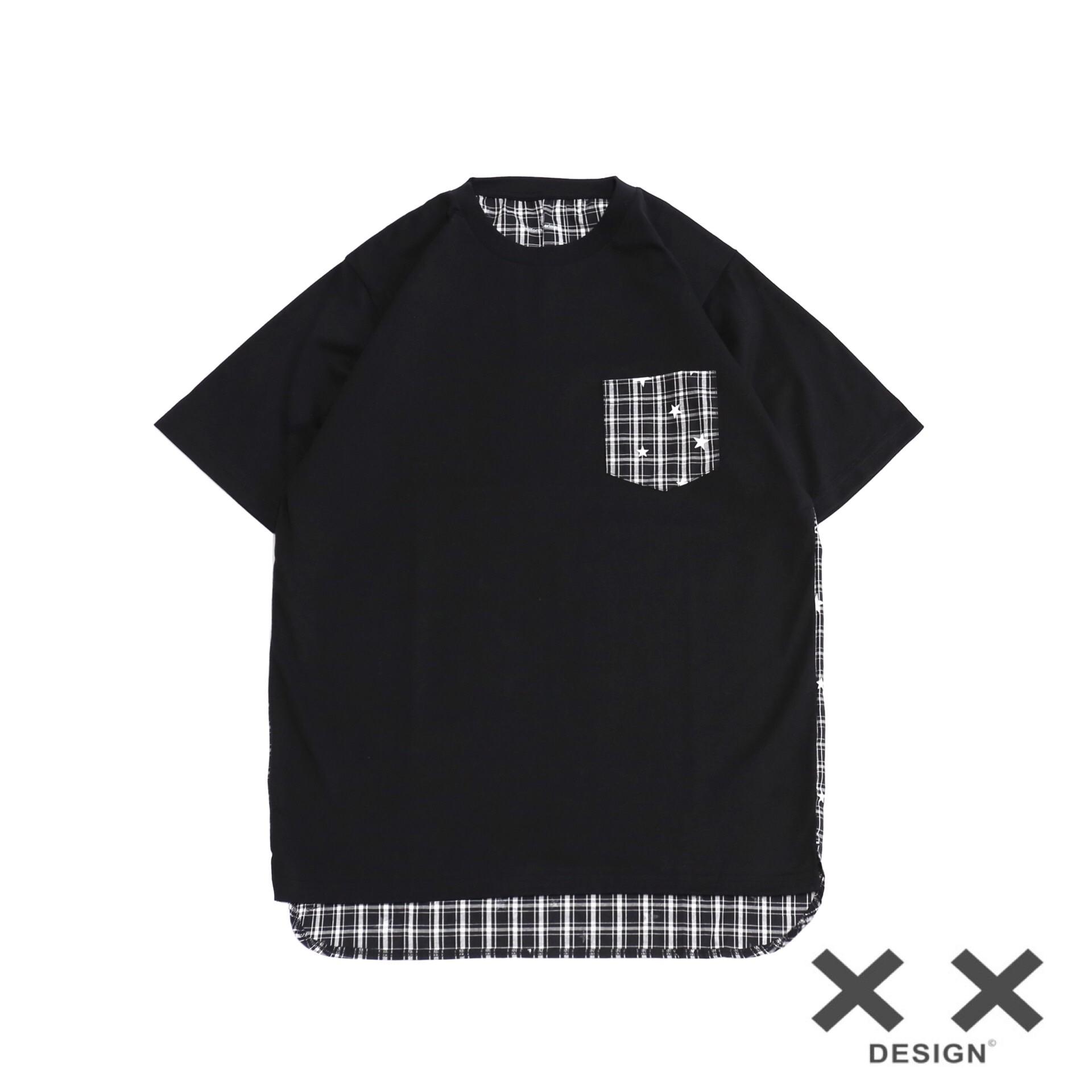 现货 UNIFOEM EXPERIMENT BACK PANEL POCKET TEE  口袋T恤 UE