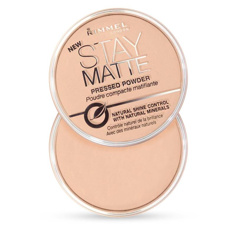 Сша подлинный Rimmel Stay Matte Rui загадка дотошный волосы отверстие штейн контроля уровня масла фиксированный макияж пирог