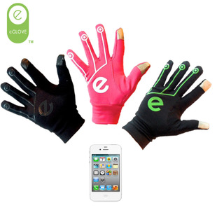 Cheap touch gloves male and female models fall and winter iphone5 touch phone sports riding gloves slip gloves