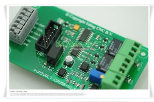 Imported Netherlands EdingCNC USBCNC 5 axis 6 axis specific 0 10v analog PWM speed control board