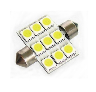 Chance goods 9 5050SMD chip LED car Festoon reading lights rear lights car lights decorative lights