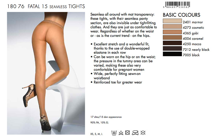 Really. And wolford fatal pantyhose confirm. was and