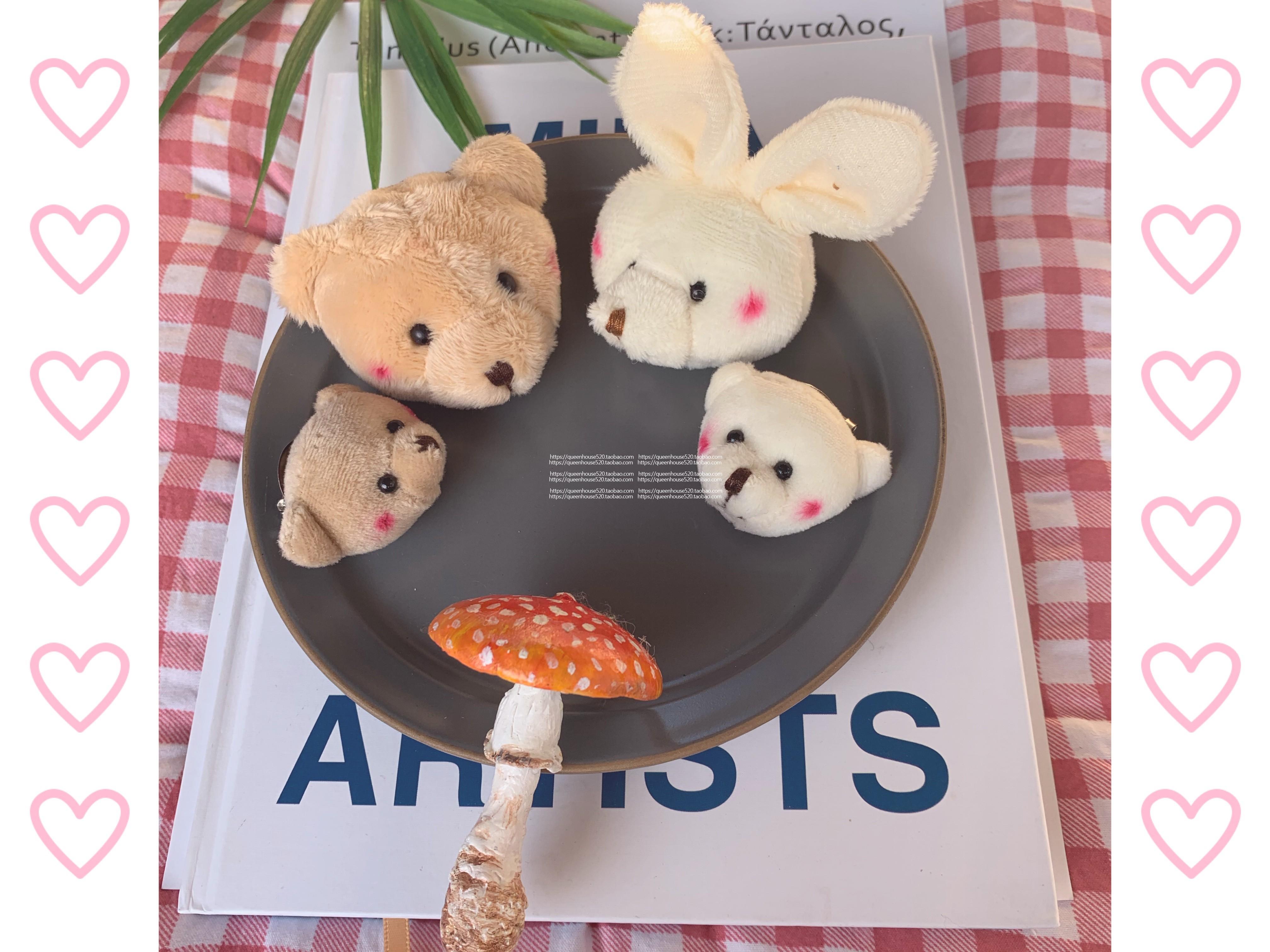 儿童饰物 小兔小熊胸针 做你的乖宝宝 超可爱 百搭衣物出街装饰
