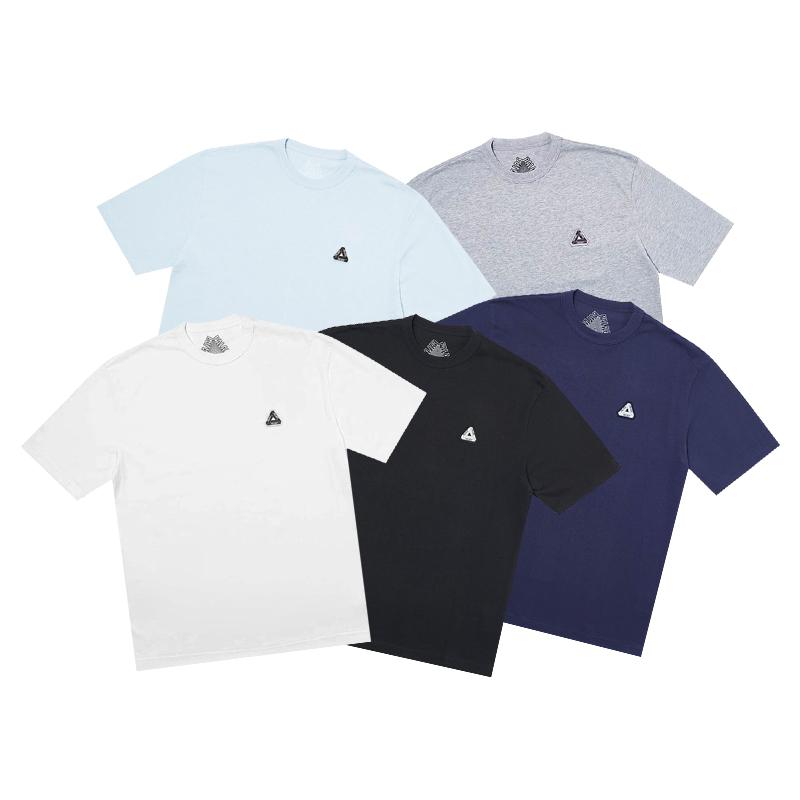 潮物Woo Palace Sofar Tee  彭羅斯三角刺繡Logo小標短袖情侶T恤