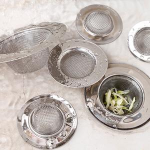 厨房水槽洗菜盆不锈钢水池排水口过滤网器卫生间下水道地漏盖
