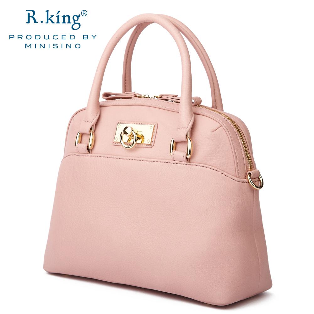 包邮R.king品仕女包包斜挎包女士皮单肩贝壳包女式休闲复古手提包
