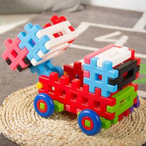 日本Toyroyal皇室玩具积木拼装玩具益智拼插大颗粒软塑料儿童宝宝