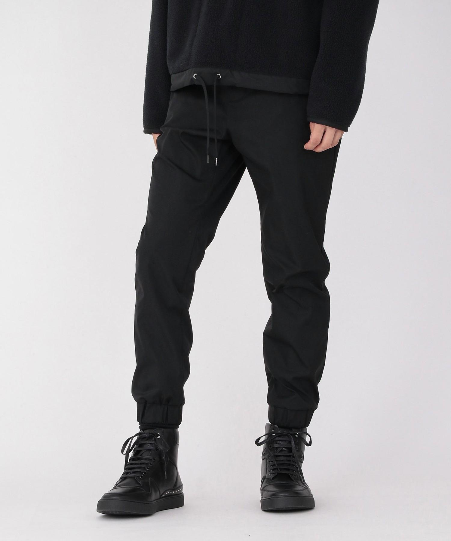 Japanese straight hair, European and American simple straight elastic pants, comfortable sports leisure pants, jogging pants