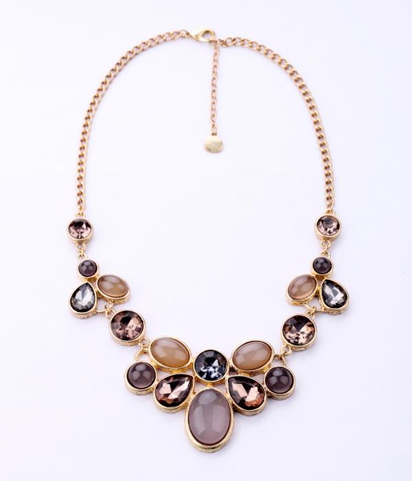 Женщина украшали европейской моды ожерелье ювелирные изделия производитель Оптовая прямые продажи карьеры OL сдержанный стиль