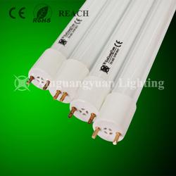 新光源厂家直销三基色节能荧光灯管T6日光灯管直管格栅灯管