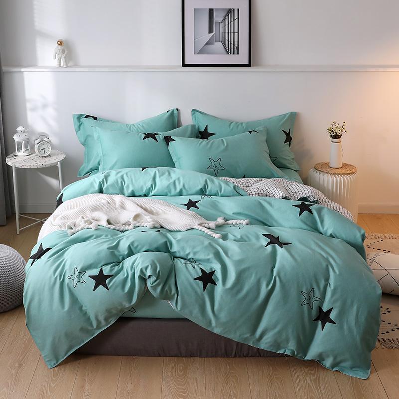 全棉棉布被罩冬100斜紋200x230單人雙人210x160×150被套單件純棉