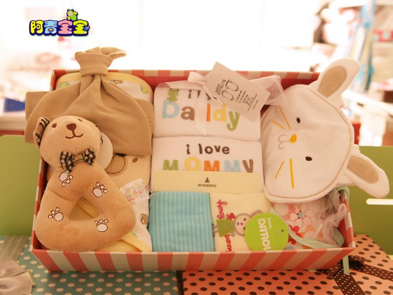 Рождения подарок Детские подарки baby подарок представляет полнолуние сто дней, которую поставляет хлопок одежды Весна/лето подарок сумка