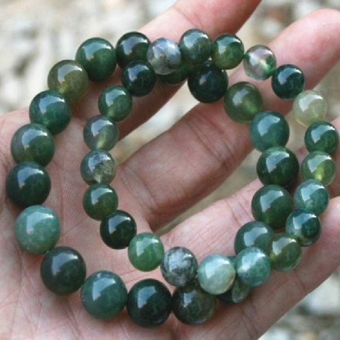 Aquatic plants agate jade pulp Bracelet pure natural [10 Yuan District] gather money to protect the body / student industry / mens and womens funds