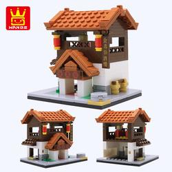兼容乐高女孩系列古风18岁以上大人高难度玩具拼装建筑大型中国风