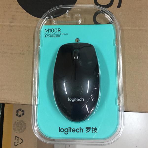 Logitech/罗技M100R USB有线台式机鼠标 正品行货全国联保