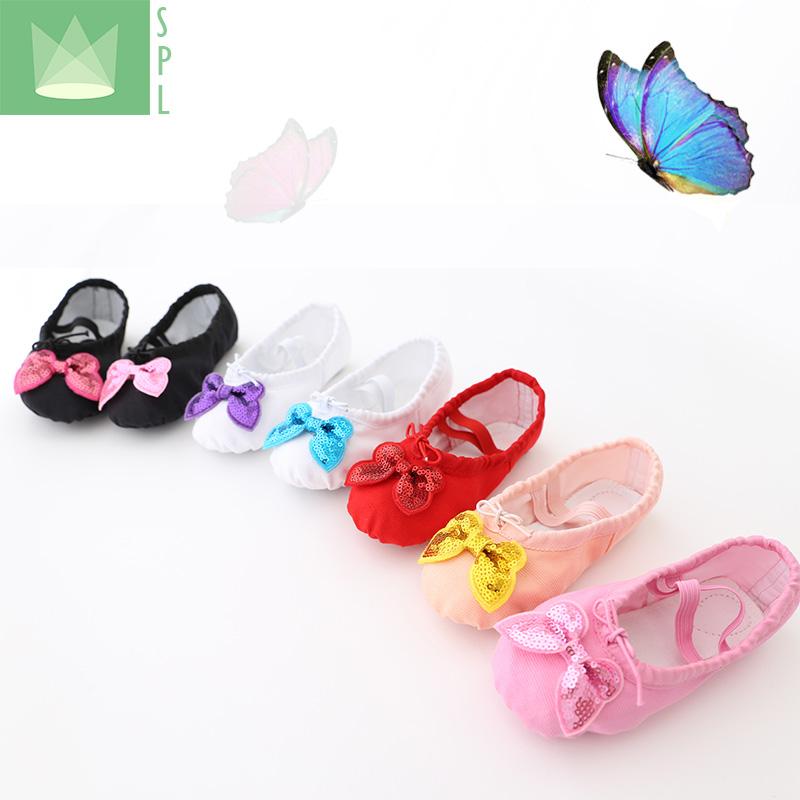 尚品琳 学生表演跳舞宝宝鞋女成人幼儿童舞蹈芭蕾舞鞋软底练功鞋