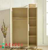 降价促销环保板材拆装衣柜 三门 双门 单门衣柜 阳台储物柜卧室柜