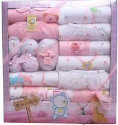 Cheap cotton baby gift autumn and winter models newborn baby newborn baby supplies baby clothes sets