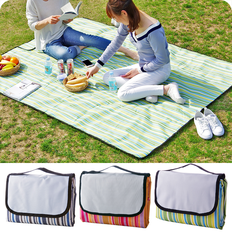 На открытом воздухе портативный пикник подушка влага складные пикник ткань весна тур коврик oxford водонепроницаемый дикий кок коврики