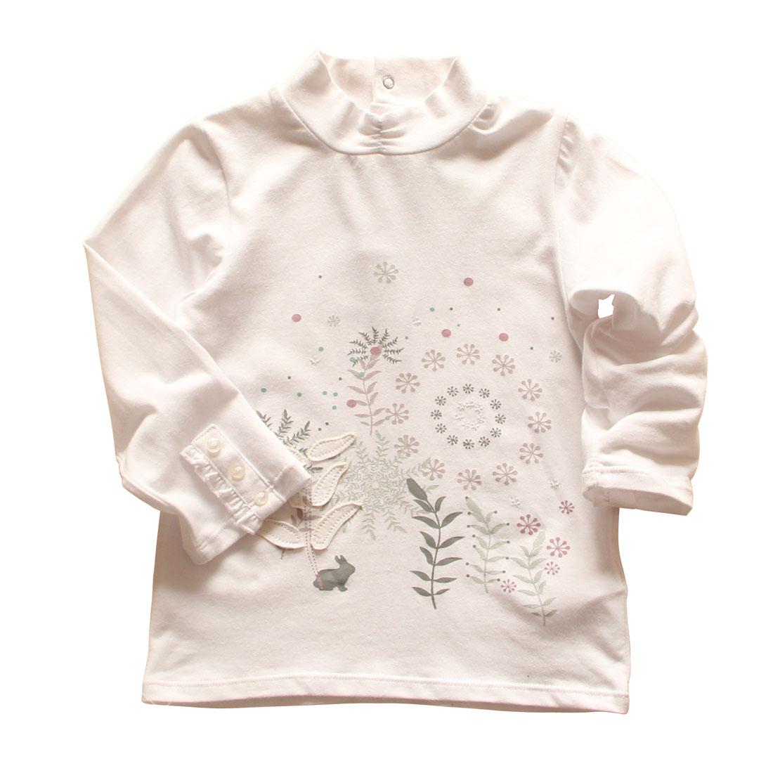 Внешняя торговля оригинальный Детская одежда по одной версии *** udet/девушки небольшие черепахи шею длинный рукав хлопок t рубашка