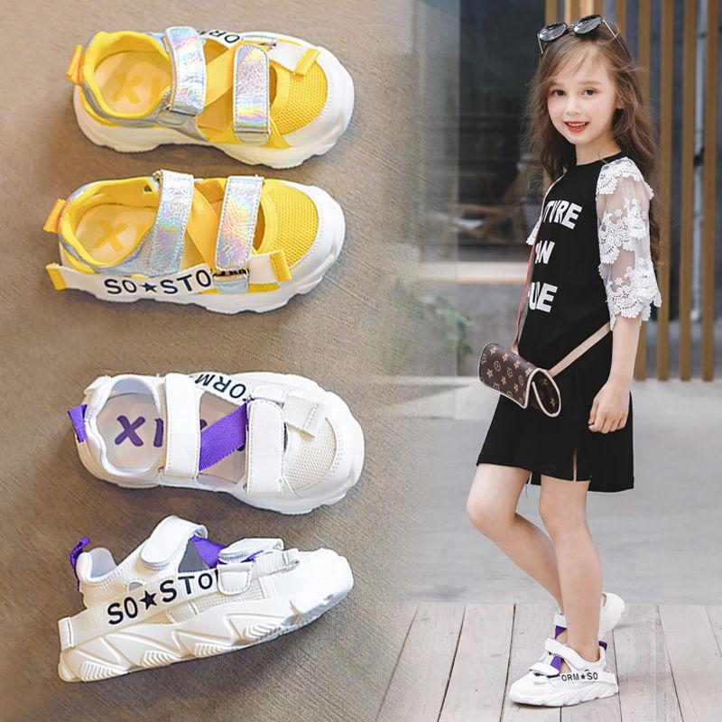 2019夏季包头女童运动学生儿童鞋子