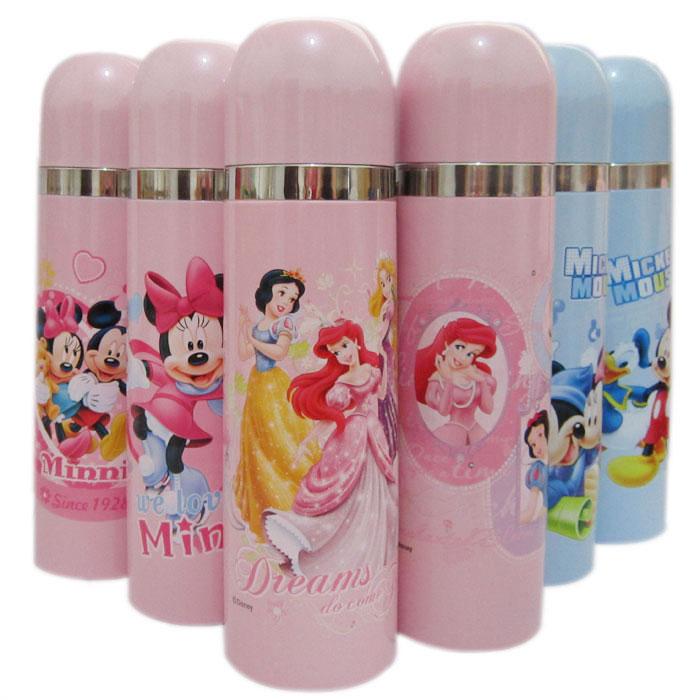 包邮特价正品迪士尼保温杯 儿童304不锈钢保温壶米奇公主水杯