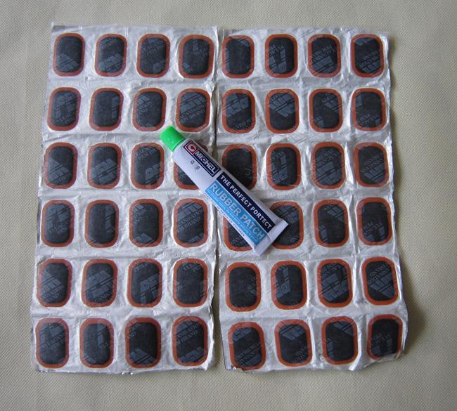 Сша майк холодный клей / шина клей / шины содержать клей вода спокойный фильм электромобиль велосипед 48 лист