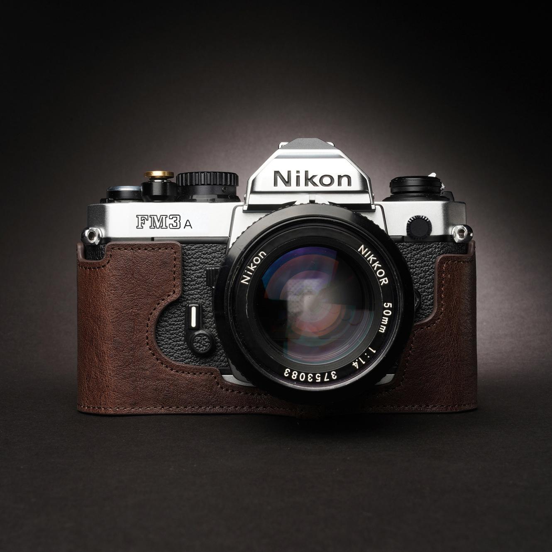Hand made cowhide Nikon Nikon FM2 Fe2 FM3A leather leather case camera bag film machine retro protective cover