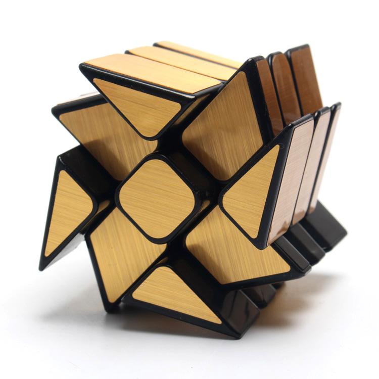 Văn hóa miền ma thuật chính hãng gương bánh xe nóng Rubik khối lập phương Rubik khối lập phương hình khối Rubik đồ chơi giáo dục linh hoạt - Đồ chơi IQ