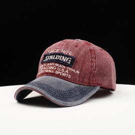 牛仔帽子男女款春夏秋天棒球帽潮韩版潮帽户外休闲运动遮阳鸭舌帽