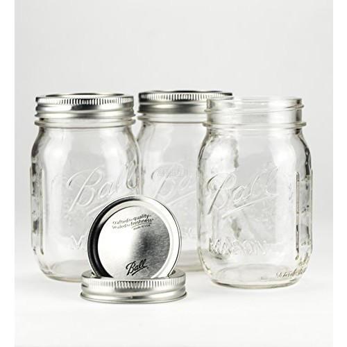 美��制造Ball Mason Jar梅森瓶密封罐梅森杯梅森罐包�]�M口密封罐