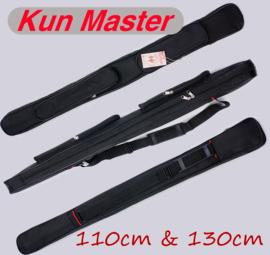 Kun Master 太极剑套1.1米1.3米牛筋布隔层不绣字 武术剑袋包邮图片