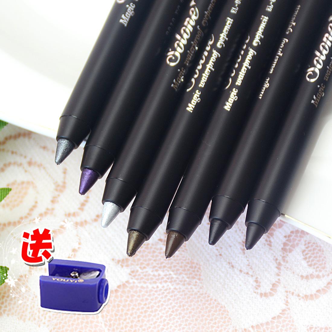 台湾Solone眼线笔 防水防汗眼线胶笔 不易晕染 初学者 多色可选