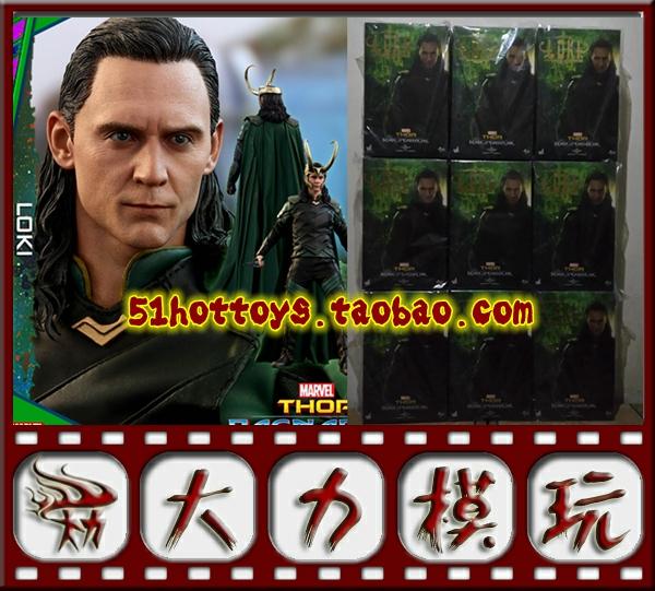 【现货】51HotToys 模型 HT 1/6 雷神3 诸神黄昏 loki 洛基 3.0