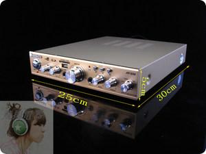 338HiFi功放发烧功放OK电脑桌面混响功放功放机大功率家用音响
