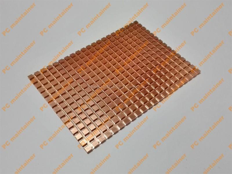 超薄纯铜2.5寸SATA3笔记本机械硬盘固态硬盘SSD手机平板散热片