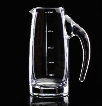 Wah Fuya wine red wine Baijiu wine decanter scale lead-free crystal glass transparent pot with thickening