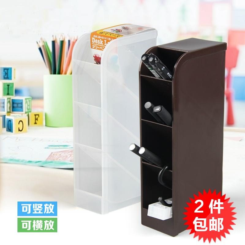 Иморт из японии YAMADA творческий пенал карандаш вставить карандаш сиденье офис в коробку канцтовары разбираться коробка