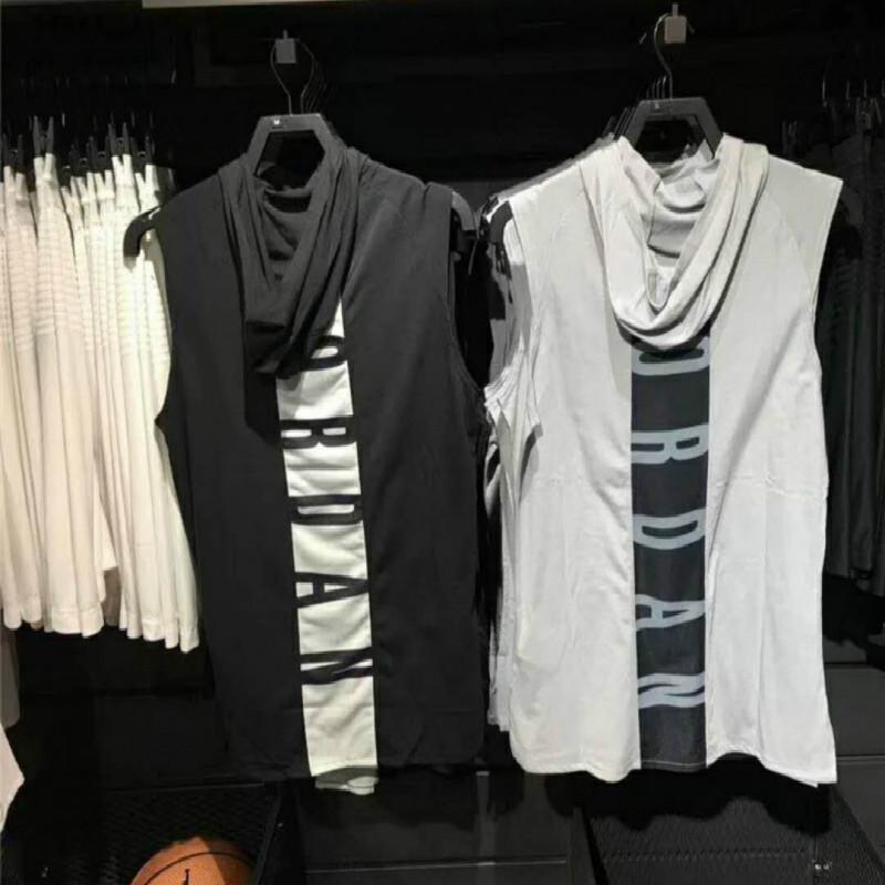 Xuanyao Nike taifeiren Anthony Training Shirt sleeveless waistcoat Hooded Vest basketball Hoodie sports t-shirt men