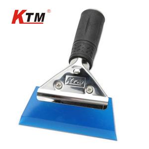 KTM汽车贴膜工具不锈钢柄牛筋刮板(GA-01)单个中等偏软贴膜刮水板