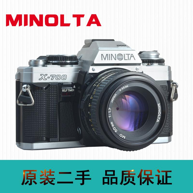 美能达MINOLTA X700银色黑色胶卷相机 135胶片机 X700 XD XDS