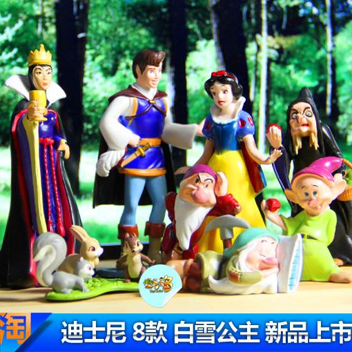 Email подлинный Disney снег белые карлики Ведьма 2 поколения куклы куклы полный набор 8