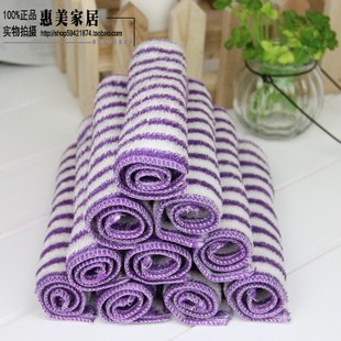Korean bamboo fiber bamboo fiber wash cloth dish towel is not contaminated with oil absorbent kitchen wipes thicken