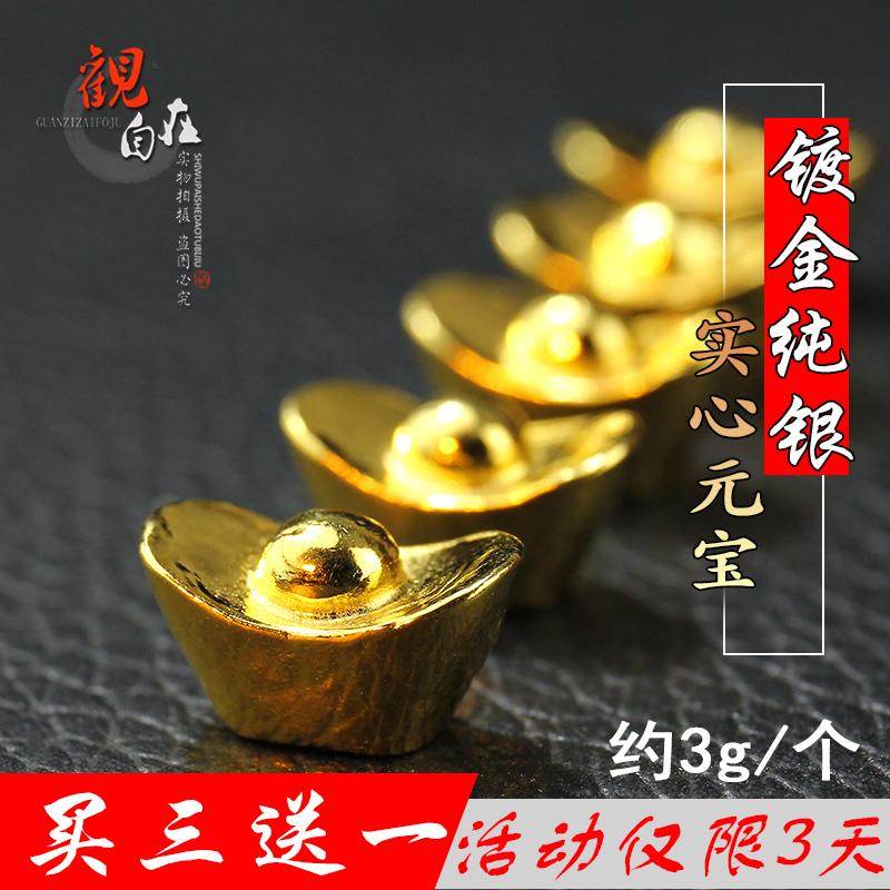 999 серебро металлизации 24k золото мини серебряные монеты будда учить статьи слиток наряд добыча бутылка для человек наконечник слиток один