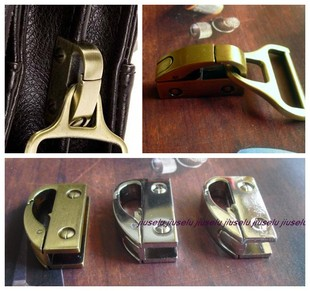 Box accessories impounded side hook hanging folders tricolor into bronze chrome screws white ribbon cracking 6 8 yuan month