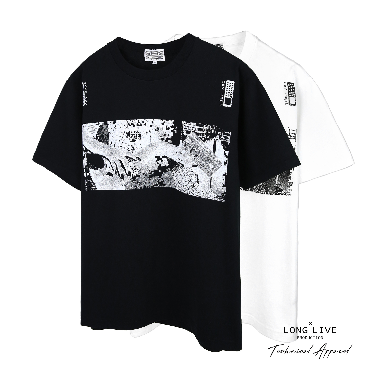 现货 Cav Empt C.E GRASP T 紧握 握手 抽象印花 短袖T恤 19SS